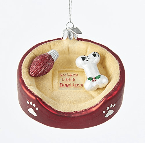 Dog Bed Ornament