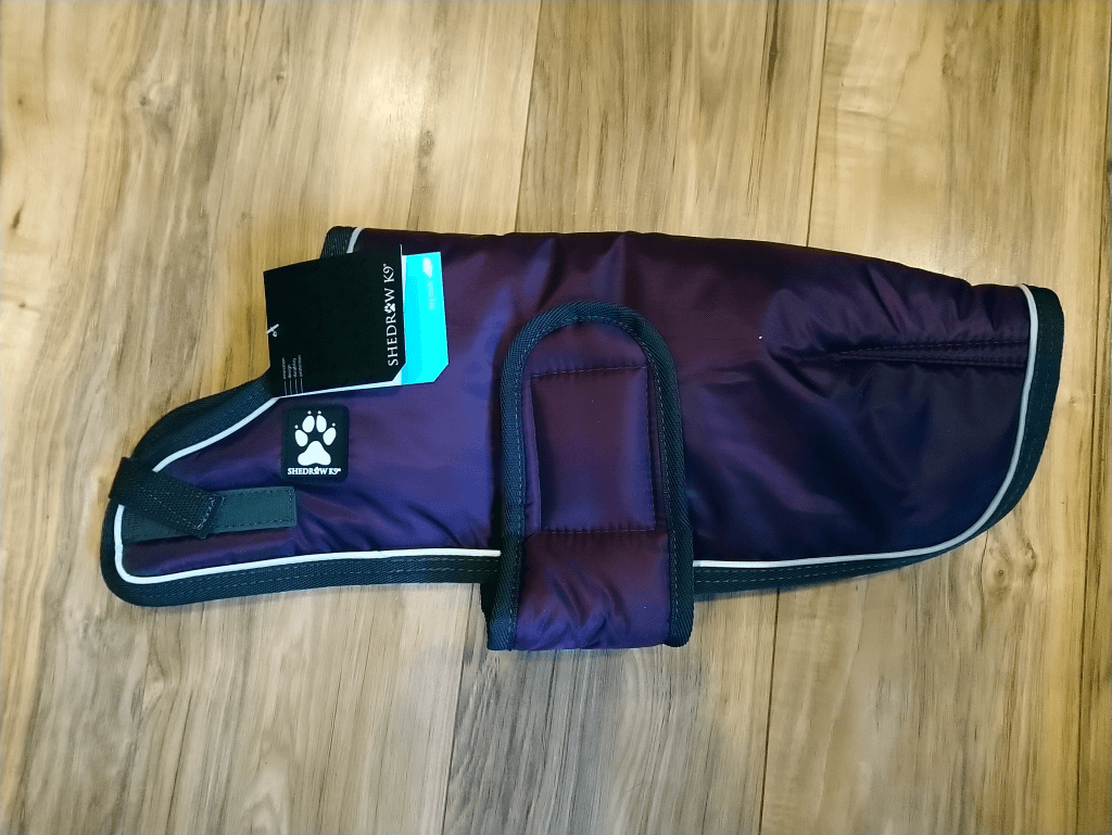 Shedrow K9 Tundra Winter Dog Coat in Perfectly Plum