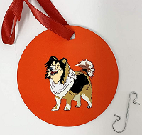 Dog Christmas Ornaments-
