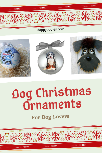 Dog Christmas Ornaments:  For Dogs Lovers - Pinterest Pin