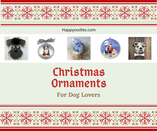 Dog Christmas Ornaments:  For Dogs Lovers Title page