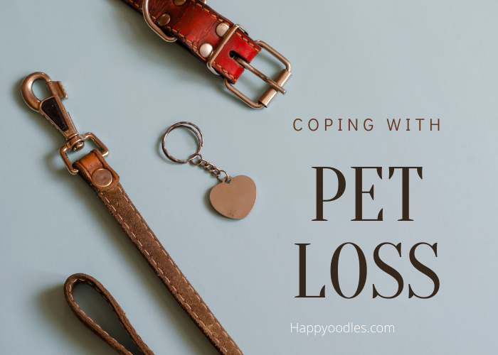 Coping with Pet Loss Title picture Happyoodles.com
